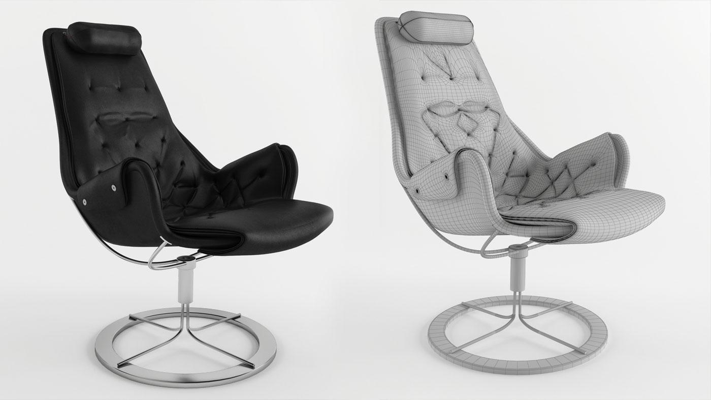 wizualizacja fotela jetson