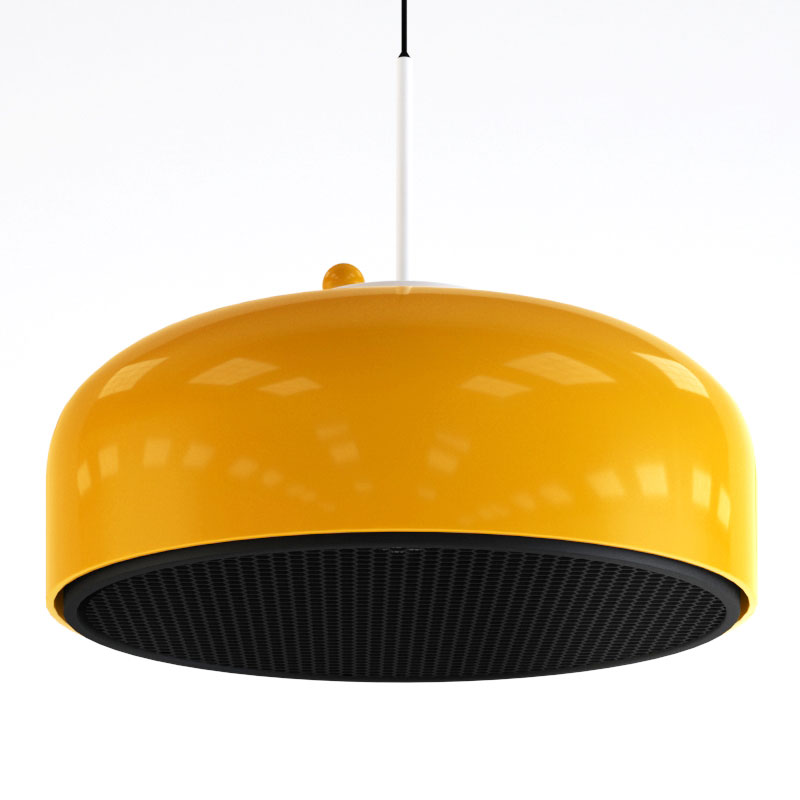 wizualizacja i model lampy, packshot